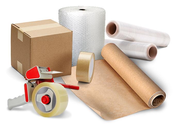 Pakiranje predmetov in prevozi blaga v škatlah
